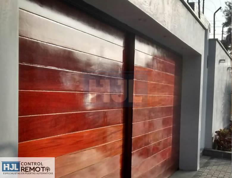 Puertas corredizas puertas levadizas hjl control remoto Puertas corredizas seguras